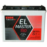 Exide ELMaster 150 150AH Tall Tubular Battery