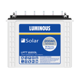Luminous LPT 12200L 200AH Solar Tubular Battery