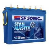 SF SONIC Stan Master -FSM0-SM10000 150AH Tall Tubular Battery