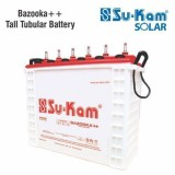 Su-kam Warrior++ 200AH Tall Tubular Battery