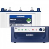 Luminous Eco Watt +850VA Square Wave Inverter & Luminous IL1830FP 150AH Flate Plate Battery